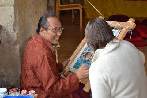 Lama Tsondru Sangpo et Stéphane Martin